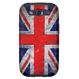 England blue and red flag samsung galaxy s3 cases