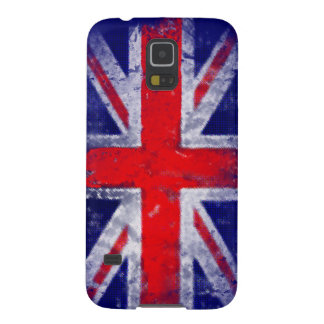 England blue and red flag case for galaxy s5