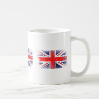 England blue and red flag coffee mug