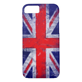 England blue and red flag iPhone 7 case