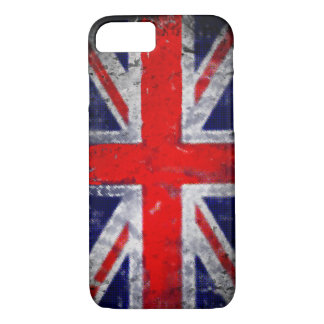 England blue and red flag iPhone 8/7 case