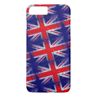 England blue and red flag iPhone 8 plus/7 plus case