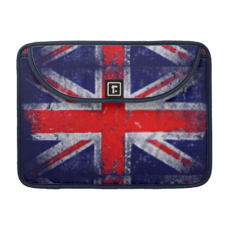 England blue and red flag sleeve for MacBooks