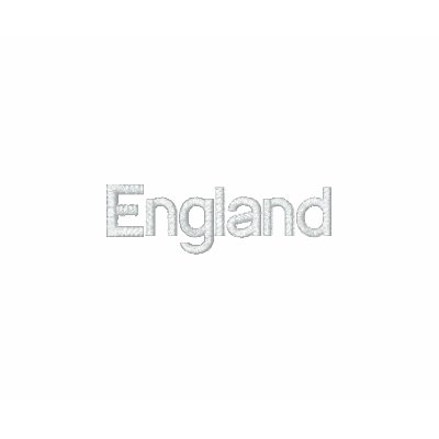 England British Country United  Kingdom Patriotic Embroidered Shirt