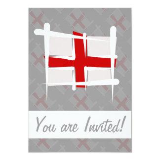 England Brush Flag Card
