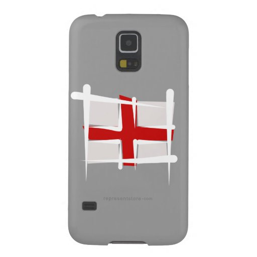 England Brush Flag Cases For Galaxy S5