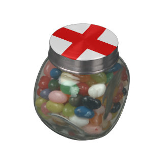 England Jelly Belly Candy Jars
