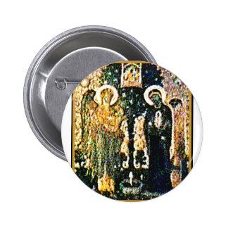 England Canterbury Church Annunciation The MUSEUM 2 Inch Round Button