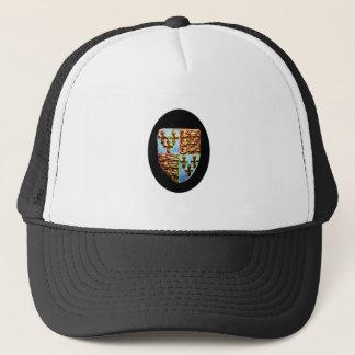 England Canterbury Church Crest Black bg The MUSEU Trucker Hat