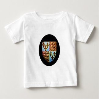 England Canterbury Church Crest Black bg The MUSEU Tshirts