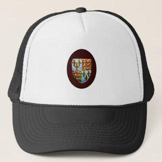 England Canterbury Church Crest Brown bg The MUSEU Trucker Hat