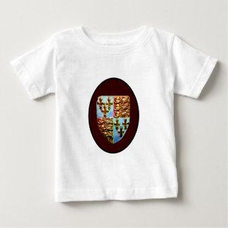 England Canterbury Church Crest Brown bg The MUSEU T-shirts