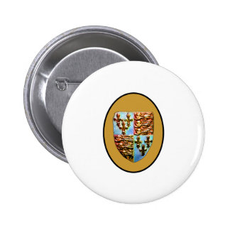 England Canterbury Church Crest Gold bg The MUSEUM Buttons