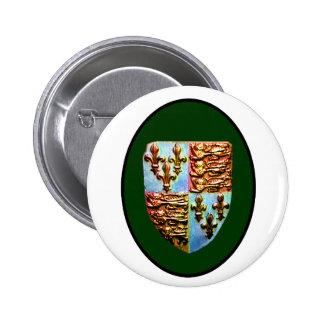 England Canterbury Church Crest Green bg The MUSEU Pin