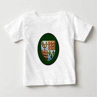 England Canterbury Church Crest Green bg The MUSEU Tshirts