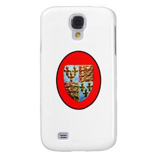 England Canterbury Church Crest Red bg The MUSEUM Samsung Galaxy S4 Case