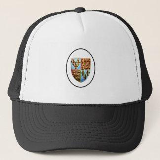 England Canterbury Church Crest White bg The MUSEU Trucker Hat