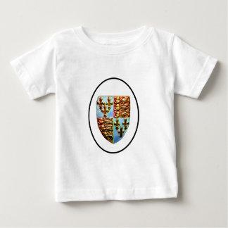 England Canterbury Church Crest White bg The MUSEU Shirts