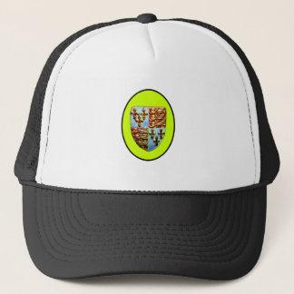 England Canterbury Church Crest Yellow bg The MUSE Trucker Hat