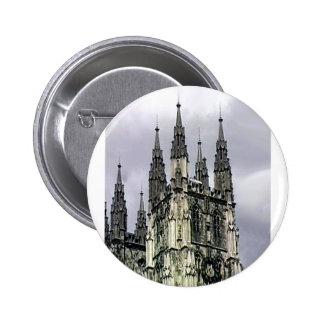 England Canterbury Church Spirals 1 The MUSEUM Zaz Pin