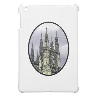 England Canterbury Church Spirals Black o The MUSE iPad Mini Cover