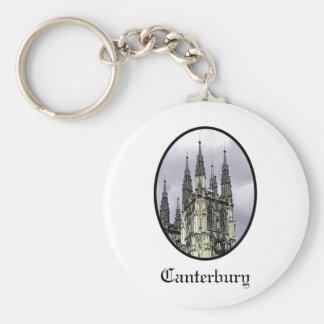 England Canterbury Church Spirals Black o The MUSE Keychains