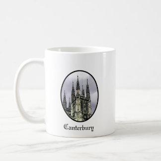 England Canterbury Church Spirals Black o The MUSE Classic White Coffee Mug