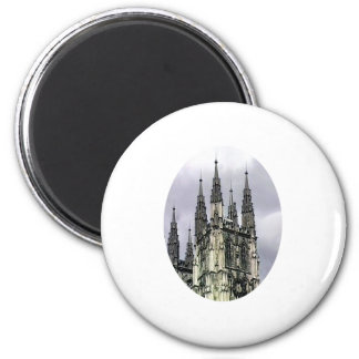 England Canterbury Church Spirals o The MUSEUM Zaz Fridge Magnets