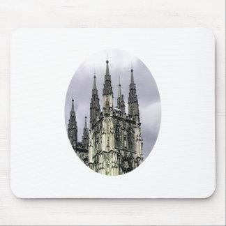 England Canterbury Church Spirals o The MUSEUM Zaz Mouse Pad