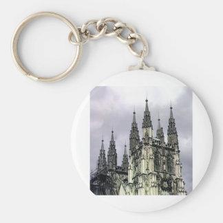 England Canterbury Church Spirals The MUSEUM Zazzl Key Chain