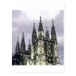 England Canterbury Church Spirals The MUSEUM Zazzl Postcard