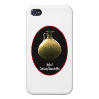 England Canterbury Roman Artifact Pottery 1 Black iPhone 4 Cases