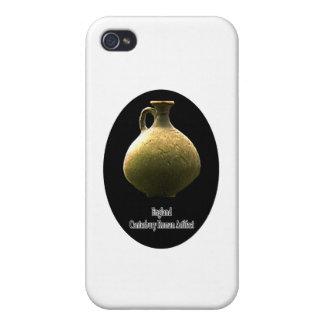 England Canterbury Roman Artifact Pottery 1 Black Case For iPhone 4