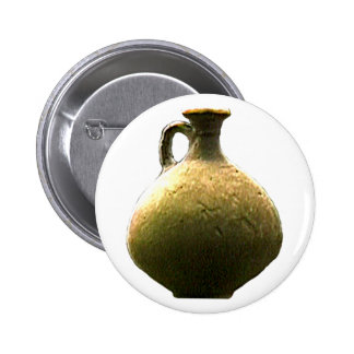 England Canterbury Roman Artifact Pottery 1 The MU 2 Inch Round Button