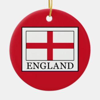 England Ceramic Ornament