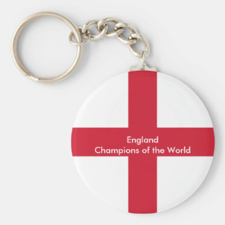 England Champions of the world key chain