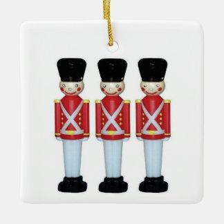 England Christmas Ceramic Ornament