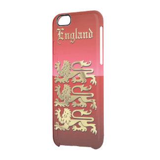 England CoA Clear iPhone 6/6S Case