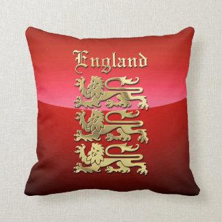 England CoA Throw Pillow