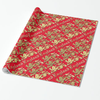 England CoA Wrapping Paper