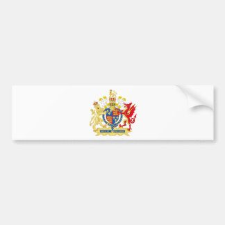 England Coat of arms Bumper Sticker