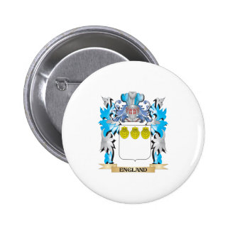 England Coat of Arms - Family Crest Pin