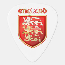 England - Coat of Arms Guitar Pick