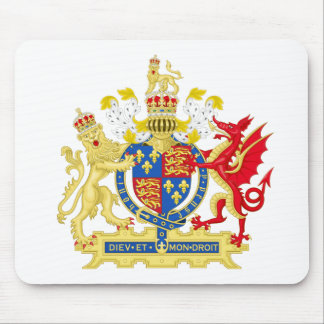 England Coat of arms Mouse Pad