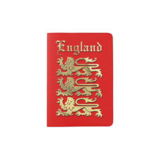 England - Coat of Arms Passport Holder