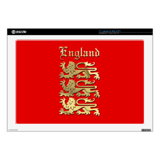 "England Coat of Arms Skin For 17"" Laptop"