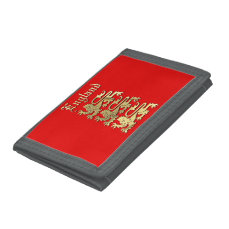 England - Coat of Arms Trifold Wallet