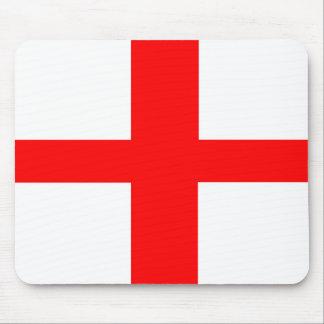england country flag long symbol english name text mouse pad
