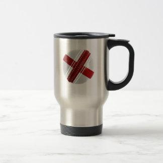England Cricket Ball Travel Mug