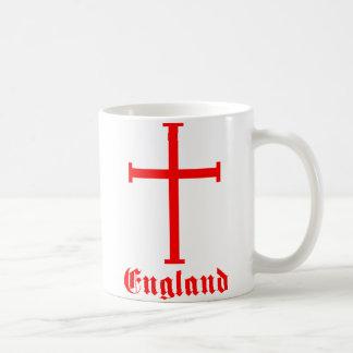 England Crusades Cross Coffee Mug